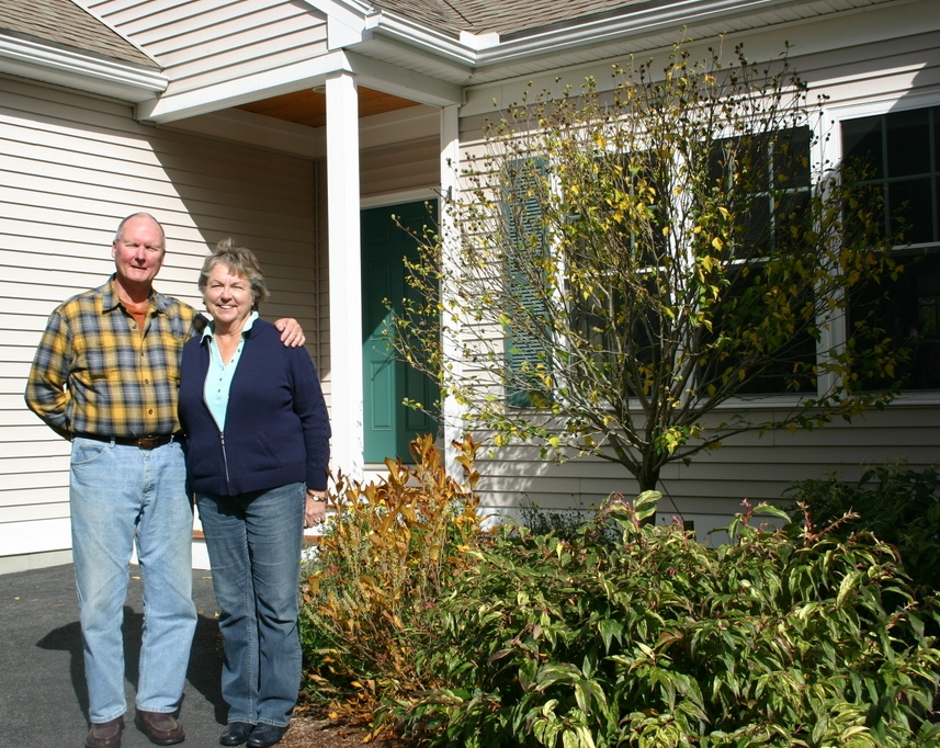 Brant and Joyce Wilson sold their New Hampshire home with the help of Apple Orchard Realty's Liz Bruce.